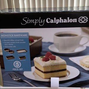 Simply Calphalon - 5 piece nonstick Bakeware